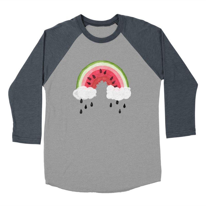 Summer Men's Baseball Triblend Longsleeve T-Shirt by Dan Rule's Artist Shop
