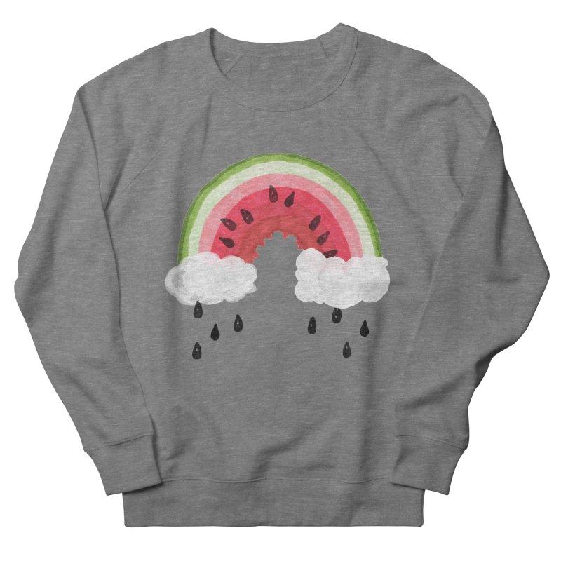 Summer Men's French Terry Sweatshirt by Dan Rule's Artist Shop