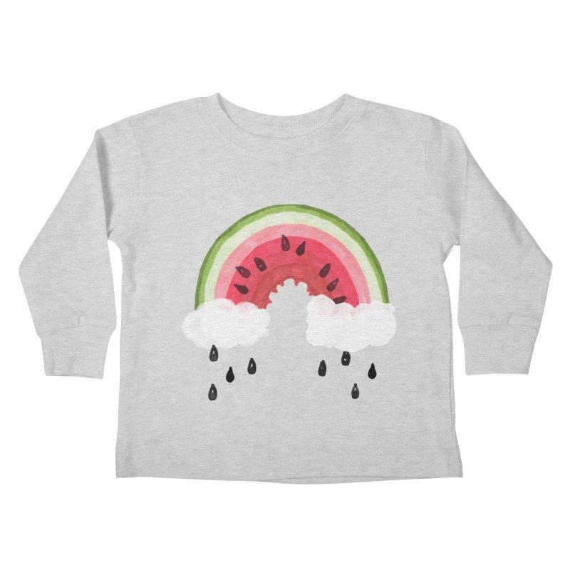 Summer Kids Toddler Longsleeve T-Shirt by danrule's Artist Shop