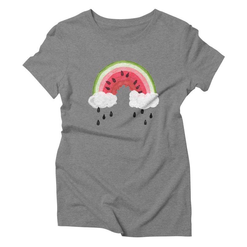 Summer Women's Triblend T-Shirt by danrule's Artist Shop