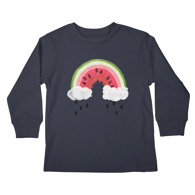 Summer Kids Longsleeve T-Shirt by danrule's Artist Shop