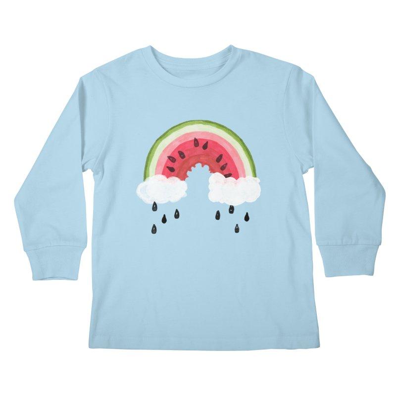 Summer Kids Longsleeve T-Shirt by danrule's Artist Shop