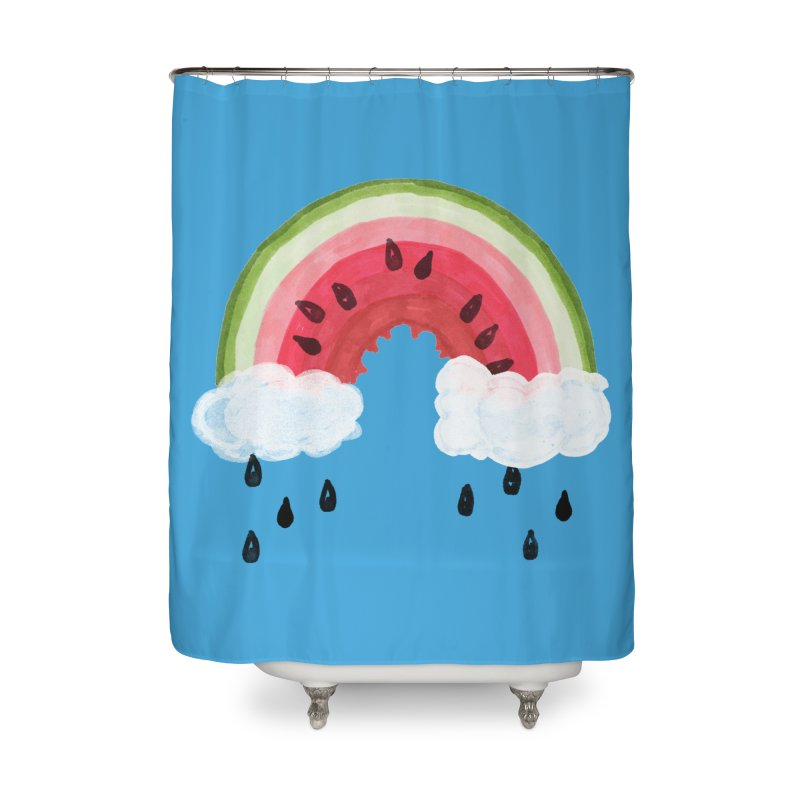 Summer Home Shower Curtain by danrule's Artist Shop