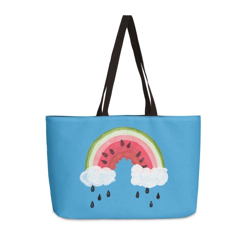 Summer Accessories Weekender Bag Bag by danrule's Artist Shop