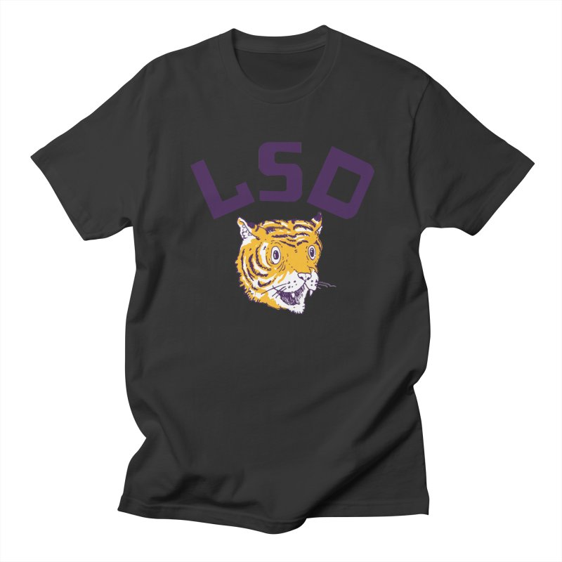 Geaux Tiger Men's Regular T-Shirt by danrule's Artist Shop