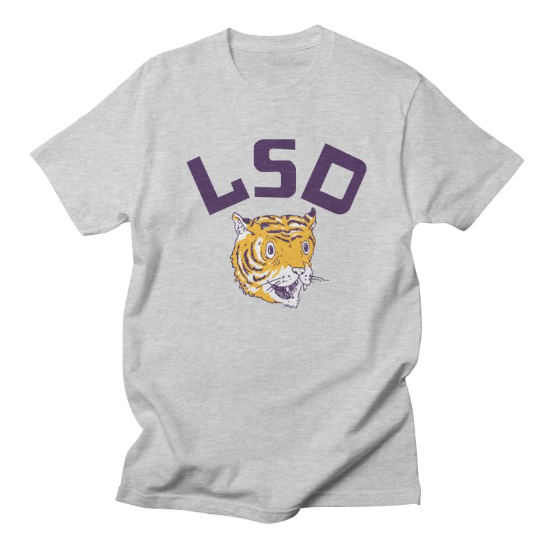 Geaux Tiger Men's T-shirt by danrule's Artist Shop