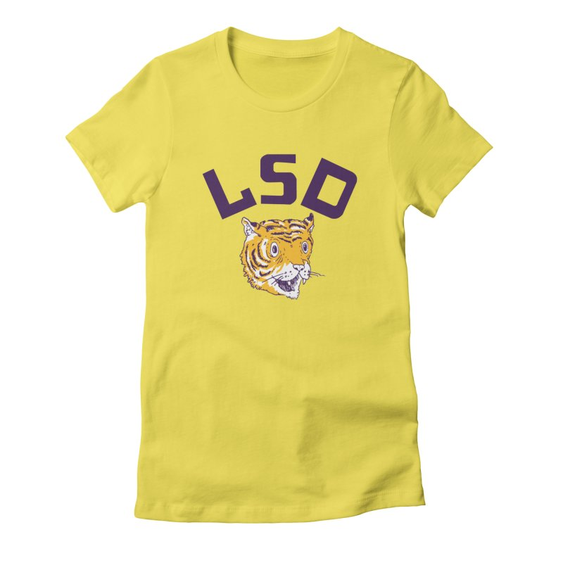Geaux Tiger Women's T-Shirt by danrule's Artist Shop