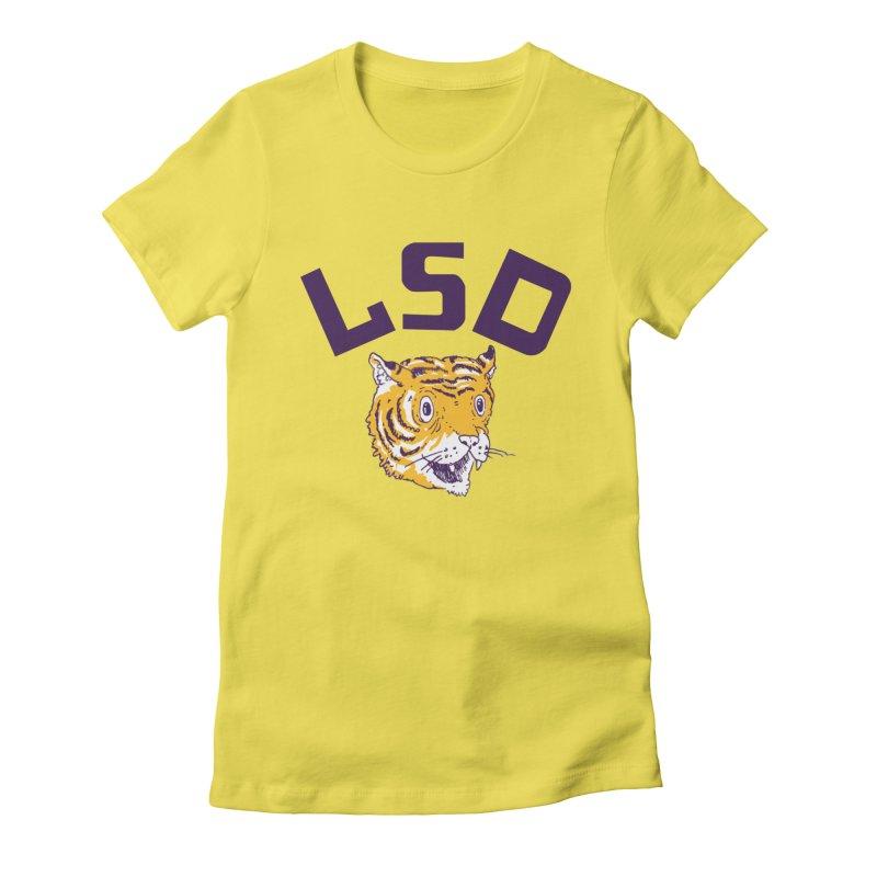 Geaux Tiger Women's Fitted T-Shirt by danrule's Artist Shop