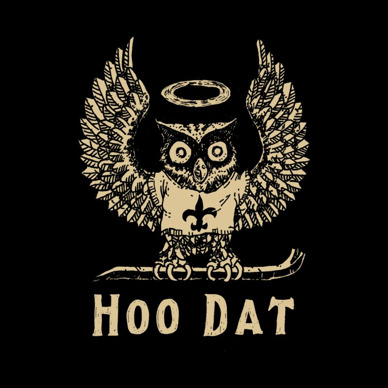 Hoo dat Men's V-Neck by Dan Rule's Artist Shop