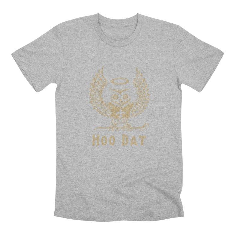 Hoo dat Men's Premium T-Shirt by Dan Rule's Artist Shop