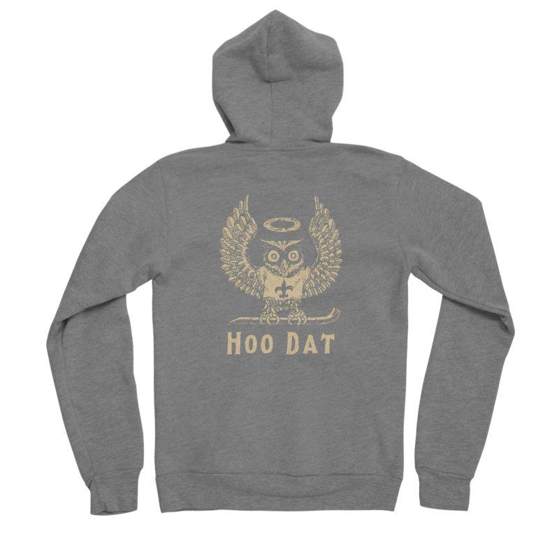 Hoo dat Men's Zip-Up Hoody by Dan Rule's Artist Shop