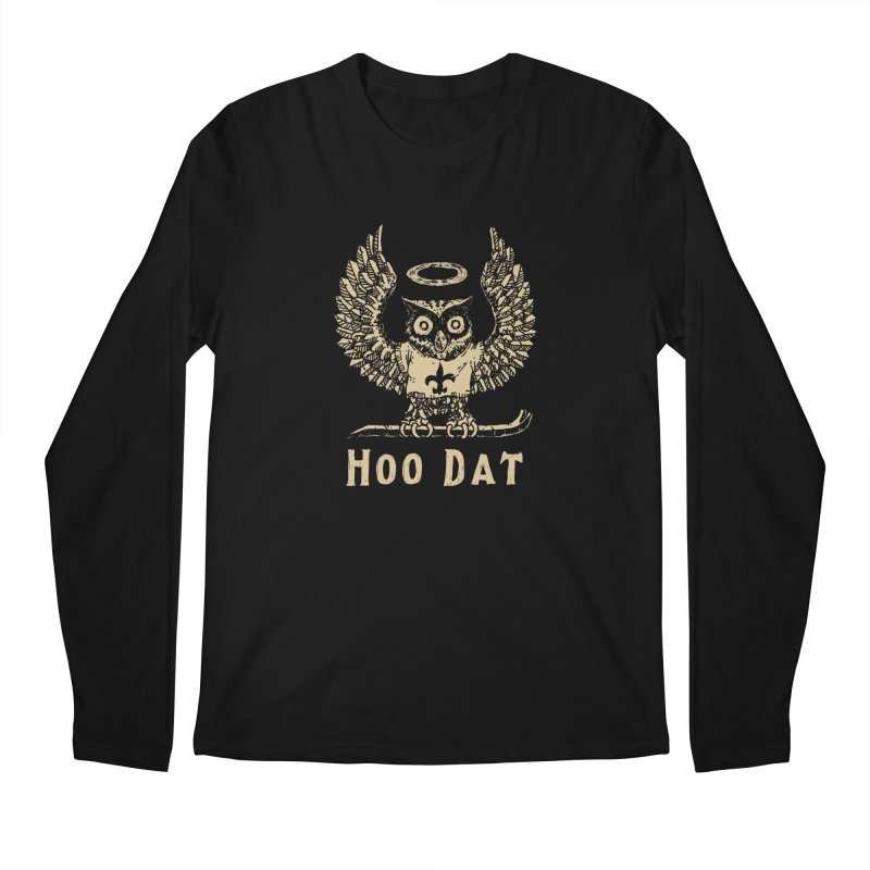 Hoo dat Men's Longsleeve T-Shirt by Dan Rule's Artist Shop