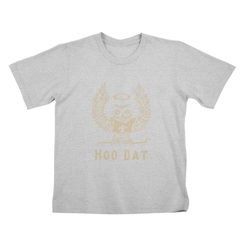 Hoo dat Kids T-Shirt by Dan Rule's Artist Shop