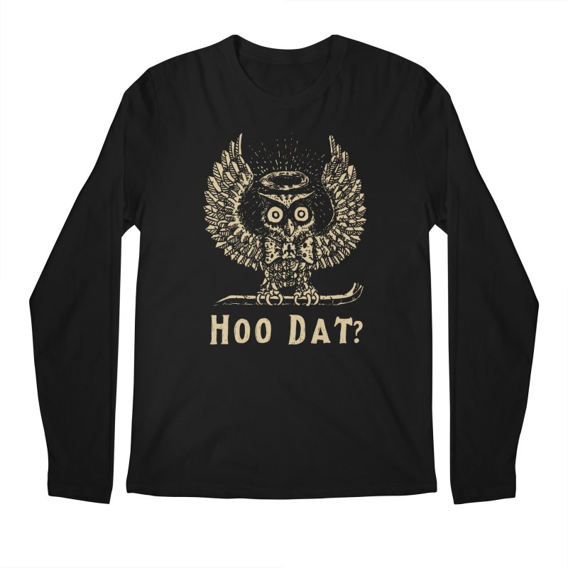 Hoo dat Men's Regular Longsleeve T-Shirt by danrule's Artist Shop
