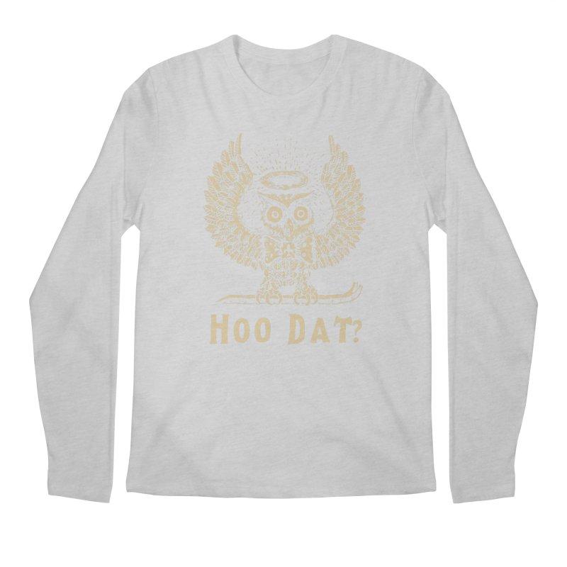 Hoo dat Men's Regular Longsleeve T-Shirt by danrule's Artist Shop