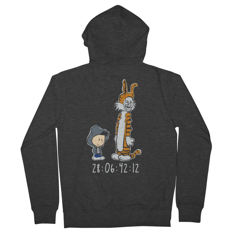 Darko and Hobbes Women's Zip-Up Hoody by dansmash's Artist Shop