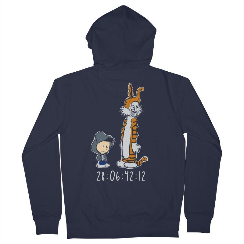 Darko and Hobbes Men's Zip-Up Hoody by dansmash's Artist Shop