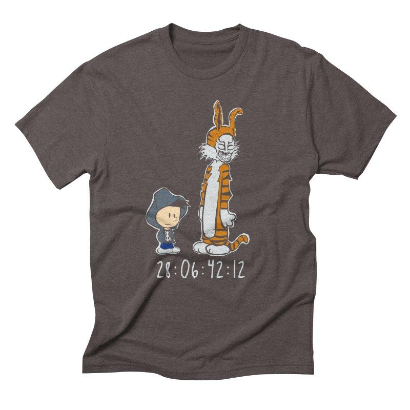 Darko and Hobbes Men's Triblend T-shirt by dansmash's Artist Shop