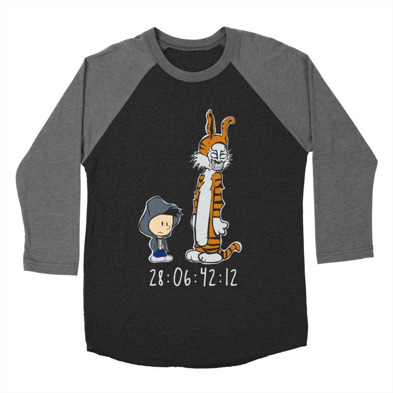 Darko and Hobbes Women's Baseball Triblend T-Shirt by dansmash's Artist Shop