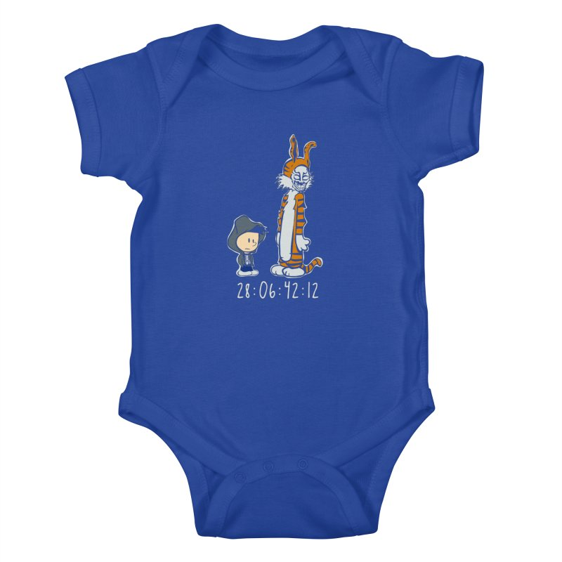 Darko and Hobbes Kids Baby Bodysuit by dansmash's Artist Shop