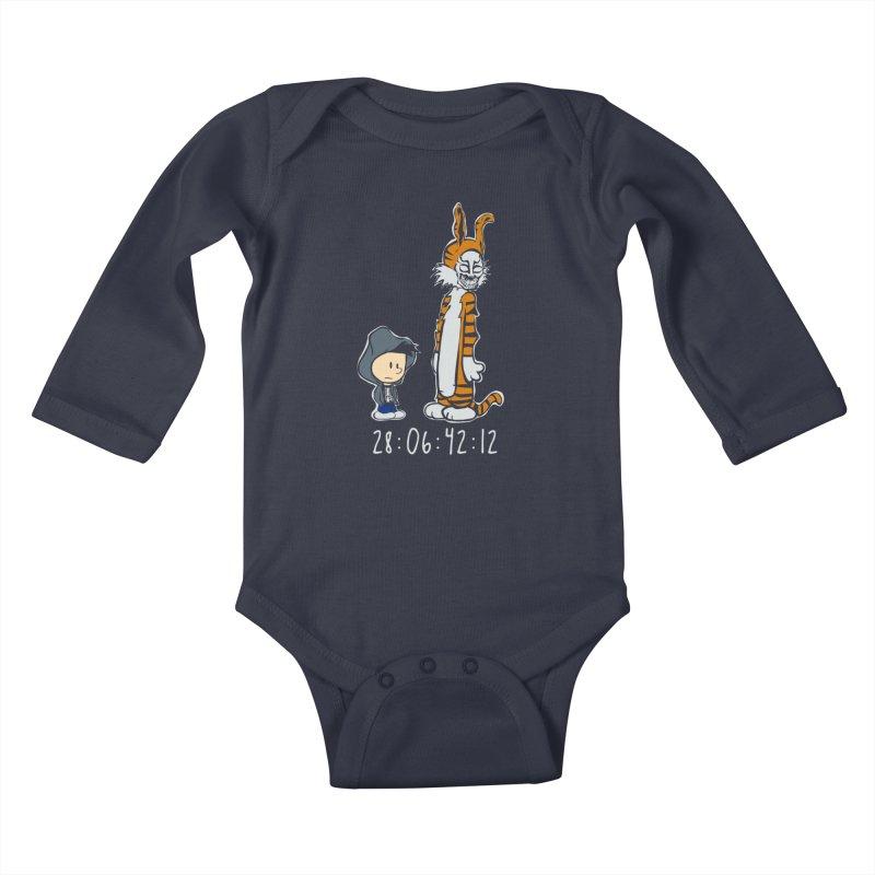 Darko and Hobbes Kids Baby Longsleeve Bodysuit by dansmash's Artist Shop