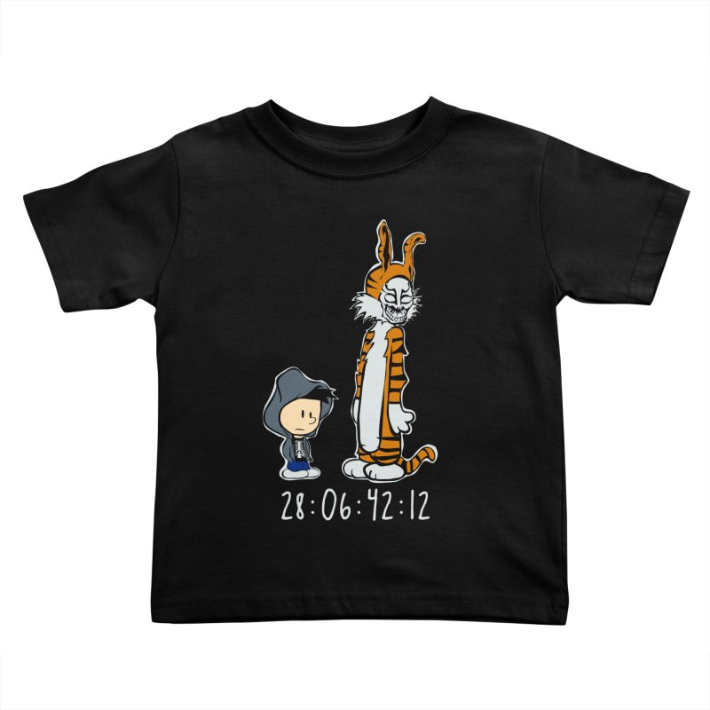 Darko and Hobbes Kids Toddler T-Shirt by dansmash's Artist Shop