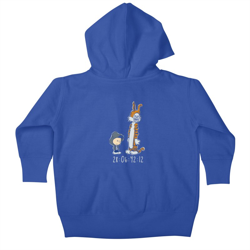 Darko and Hobbes Kids Baby Zip-Up Hoody by dansmash's Artist Shop