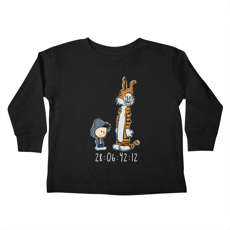 Darko and Hobbes Kids Toddler Longsleeve T-Shirt by dansmash's Artist Shop