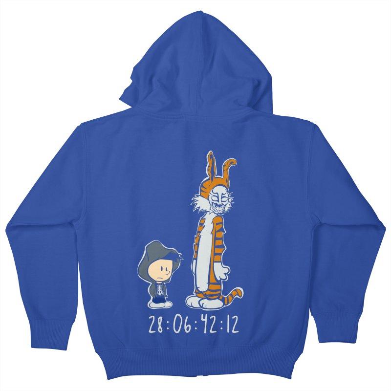 Darko and Hobbes Kids Zip-Up Hoody by dansmash's Artist Shop