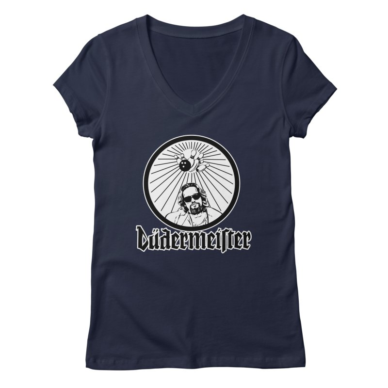 Dudermeister Women's V-Neck by dansmash's Artist Shop