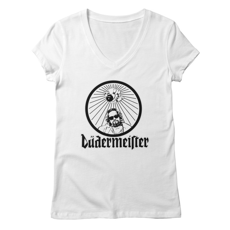 Dudermeister Women's V-Neck by dansmash's Artist Shop