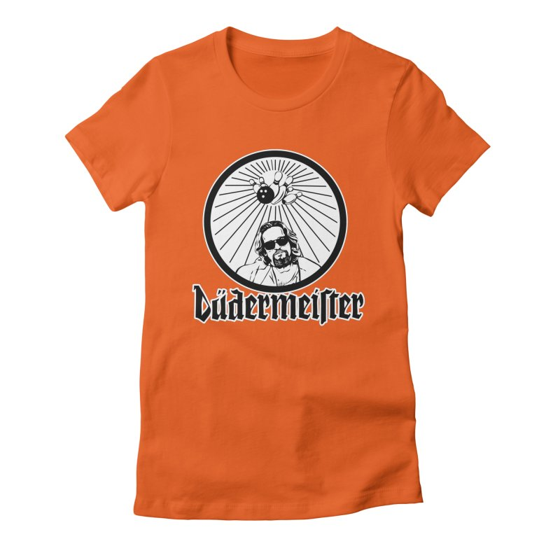 Dudermeister Women's Fitted T-Shirt by dansmash's Artist Shop
