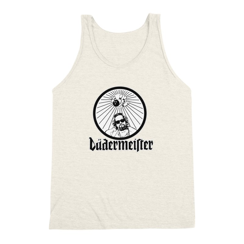 Dudermeister Men's Triblend Tank by dansmash's Artist Shop