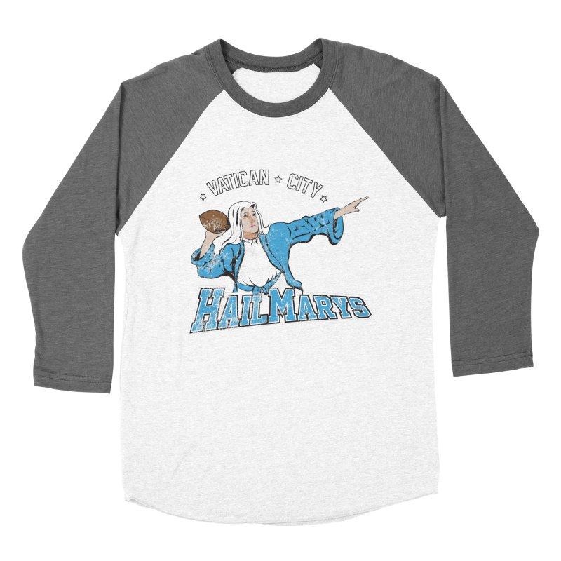 Vatican City Hailmarys Men's Baseball Triblend T-Shirt by dansmash's Artist Shop