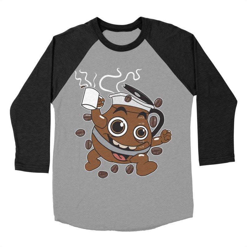 Coffee! Women's Baseball Triblend T-Shirt by dansmash's Artist Shop