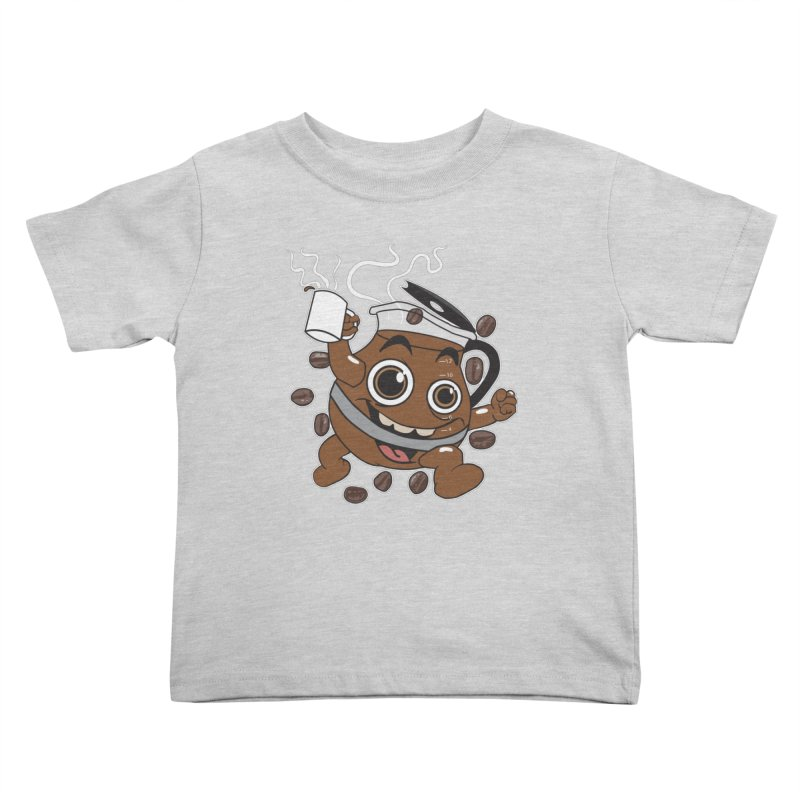 Coffee! Kids Toddler T-Shirt by dansmash's Artist Shop