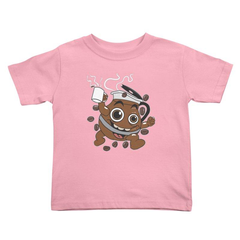 Coffee! Kids Toddler T-Shirt by dansmash's Artist Shop