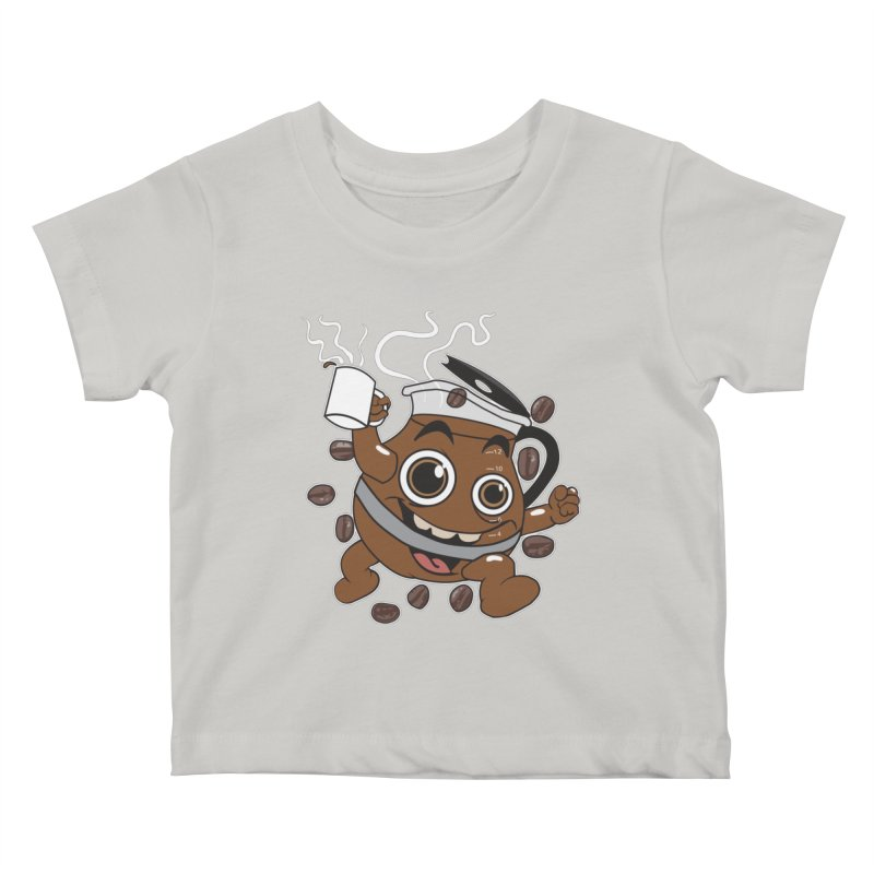 Coffee! Kids Baby T-Shirt by dansmash's Artist Shop