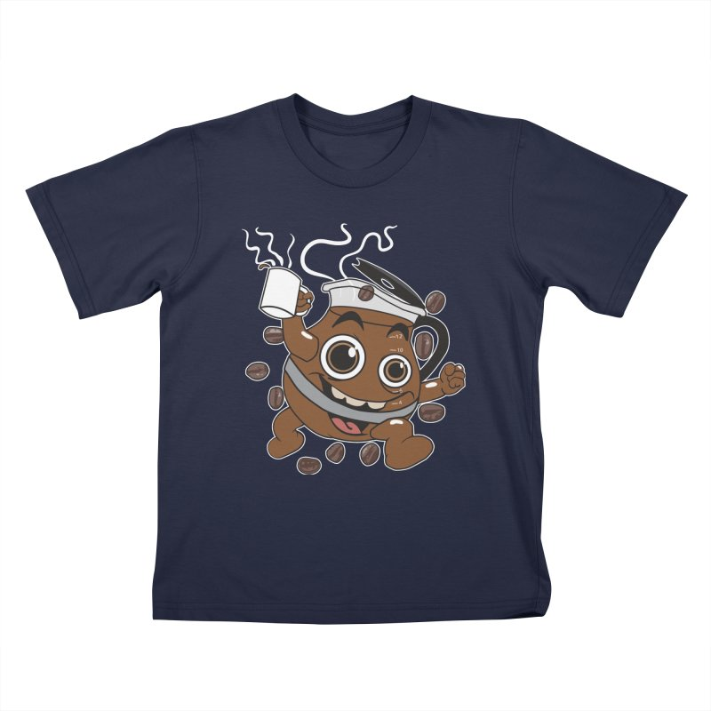 Coffee! Kids T-shirt by dansmash's Artist Shop