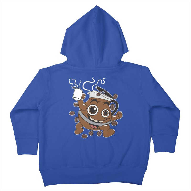 Coffee! Kids Toddler Zip-Up Hoody by dansmash's Artist Shop