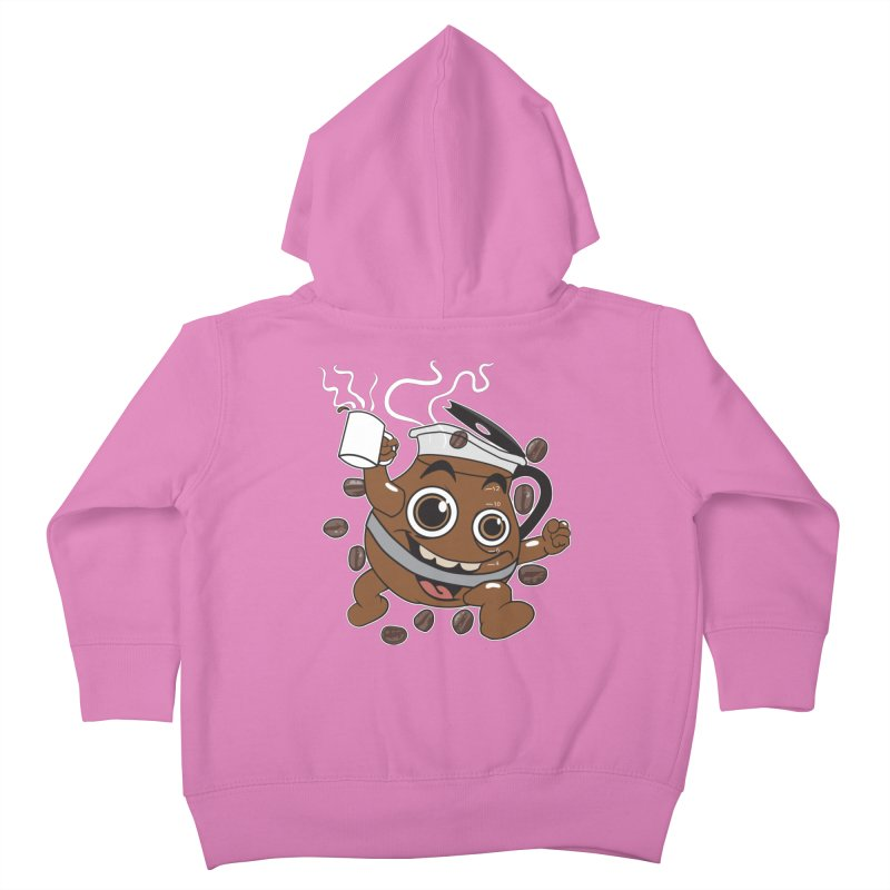 Coffee! Kids Toddler Zip-Up Hoody by dansmash's Artist Shop