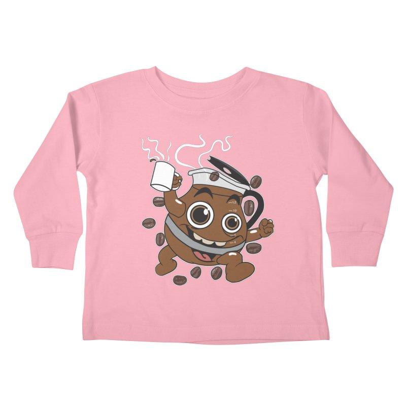 Coffee! Kids Toddler Longsleeve T-Shirt by dansmash's Artist Shop