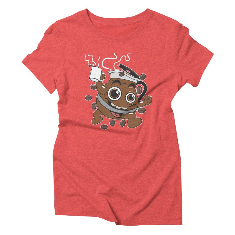 Coffee! Women's Triblend T-Shirt by dansmash's Artist Shop