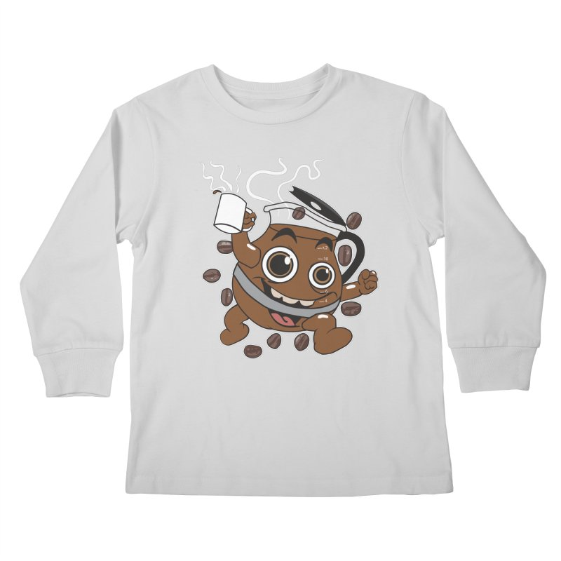 Coffee! Kids Longsleeve T-Shirt by dansmash's Artist Shop
