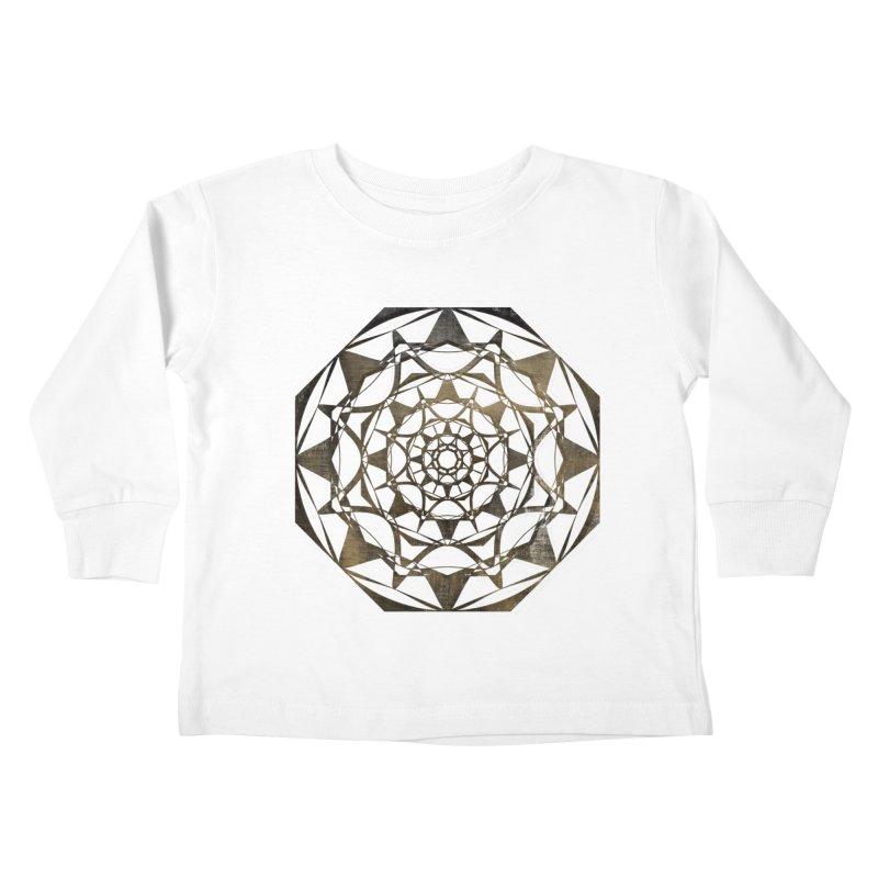 Blind Ideas Kids Toddler Longsleeve T-Shirt by dansyuqri's Artist Shop