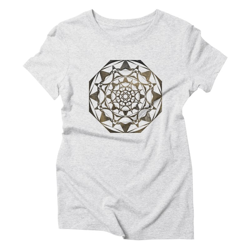 Blind Ideas Women's Triblend T-Shirt by dansyuqri's Artist Shop