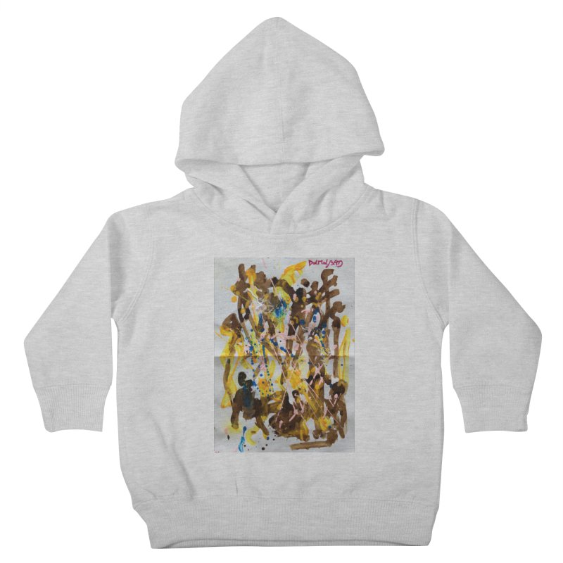 Abstract casting motive I Kids Toddler Pullover Hoody by Darabem's Artist Shop. Darabem Collection