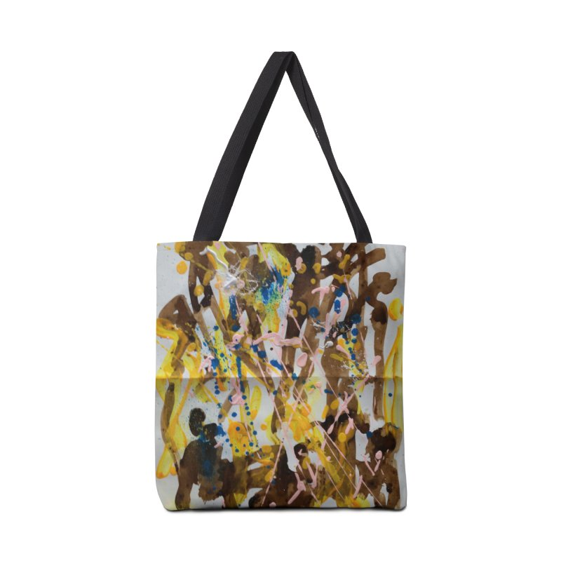 Abstract casting motive I Accessories Bag by Darabem's Artist Shop. Darabem Collection