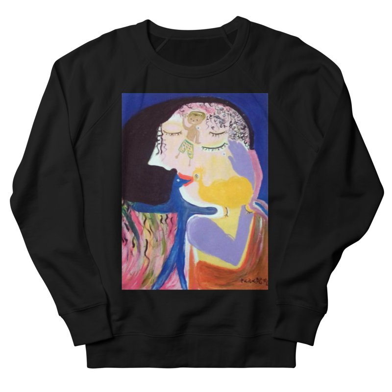 To be wait Men's French Terry Sweatshirt by Darabem's Artist Shop. Darabem Collection