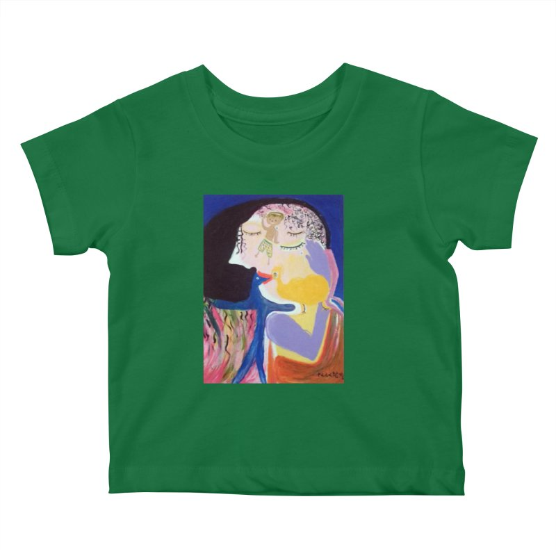 To be wait Kids Baby T-Shirt by Darabem's Artist Shop. Darabem Collection
